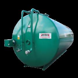 Station citerne azote acier double paroi 50000 litres intérieur inox