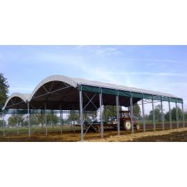 Tunnel d'élevage ou stockage 10,00 m  x 8,00 m x 4,90 m