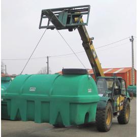 Kit de levage pour citerne en plastique PEHD verte