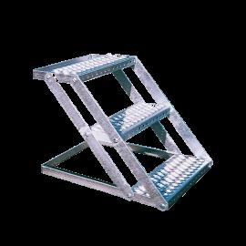 Escalier galvanisé 3 marches