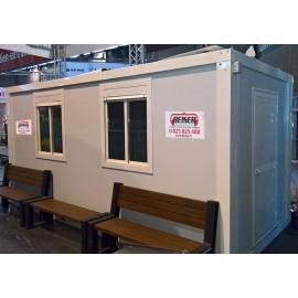Bungalow en kit avec équipement électrique 5,30 x 2,44 mètres