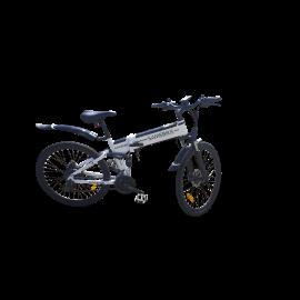Vélo électrique pliable aluminium 500 W - Blanc