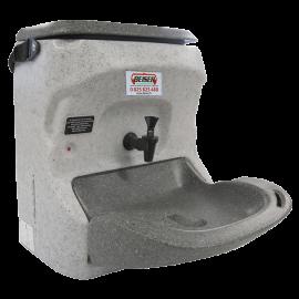 Lave-main portatif chauffant