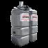 Beiser Environnement - Station fuel double paroi PEHD sans odeur, 750 litres, pompe 12V avec limiteur de remplissage 2 - Point de vue d'ensemble