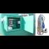 Pompe immergée inox 380V 700L/min avec dijoncteur et armoire pour station azote