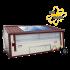 Poule'Lib poulailler bâtiment mobile en kit avec relevage hydraulique 45 m2