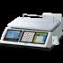 Balance commerciale à ticket, module fiscal intégré (6/15KG, précision 2/5G)
