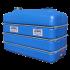 Beiser Environnement - Citerne en plastique PEHD rectangulaire alimentaire 3 000 litres