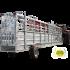 Couloir de contention 8,50 m pneumatique avec relevage hydraulique et système de pesée