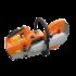 Beiser Environnement - Brouette électrique avec cuve PVC grand volume - Vue de face