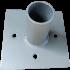 Platine pour tunnel (ancrage dans le béton ou fixation sur dalle bétonnée)