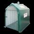 Beiser Environnement - Niche individuelle 1 veau polyester avec porte seau et caillebotis (niche)