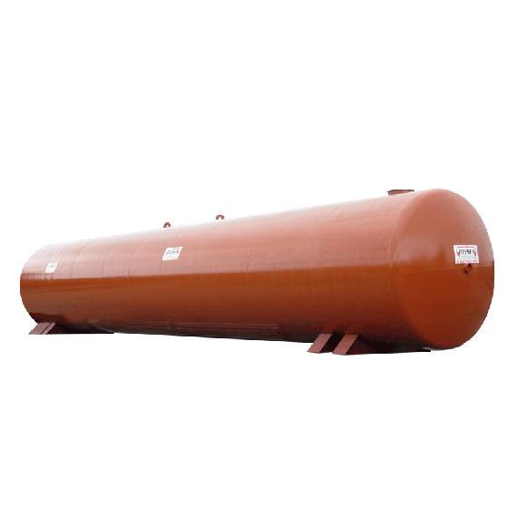 Citerne acier neuve réserve à incendie 60 000 litres, Ø2500 mm
