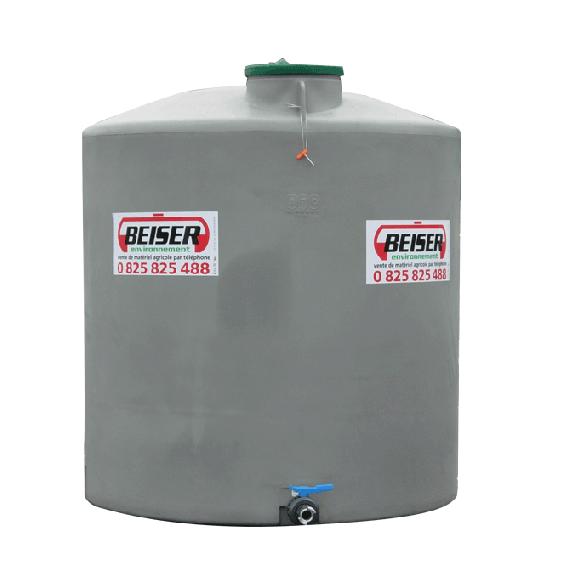 Citerne polyéthylène verticale 15 000 litres