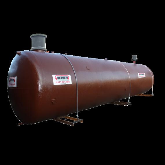 Station citerne récupération eau de pluie simple paroi à enterrer 15000 litres (reconditionnée) avec pompe