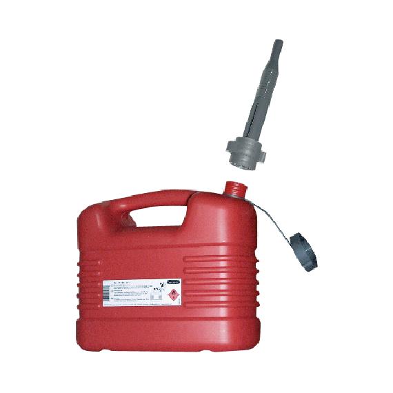 Jerrycan en polyethylène pour carburant 10 litres
