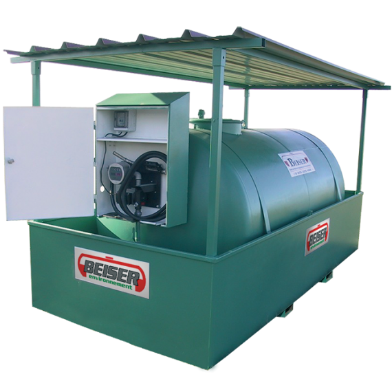 Station citerne fuel industrielle NN 5000 litres
