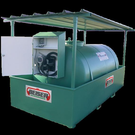 Station citerne fuel industrielle NN 8000 litres