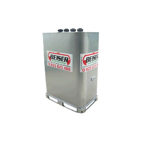 """Citerne stockage et transport (VET) 1000 litres avec limiteur de remplissage 2"""""""