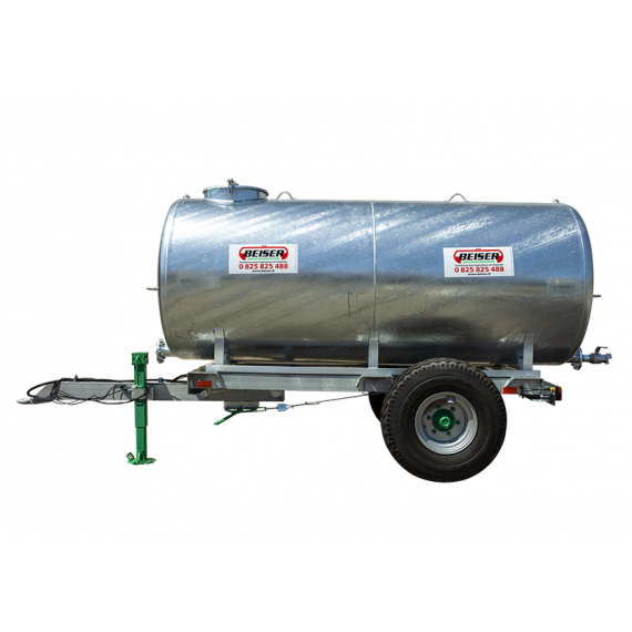 Citerne sur châssis 10000 litres en KIT (Nouveau modèle 2021) - Essieu simple