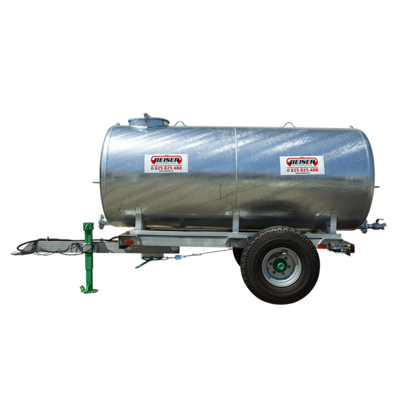 Citerne galvanisée sur châssis galvanisé 5000 litres en KIT