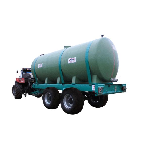 Citerne polyester sur châssis, capacité 15000 litres