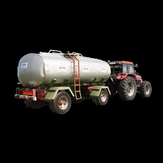 Citerne inox 14000 litres sur chassis origine 2 essieux - Occasion 3