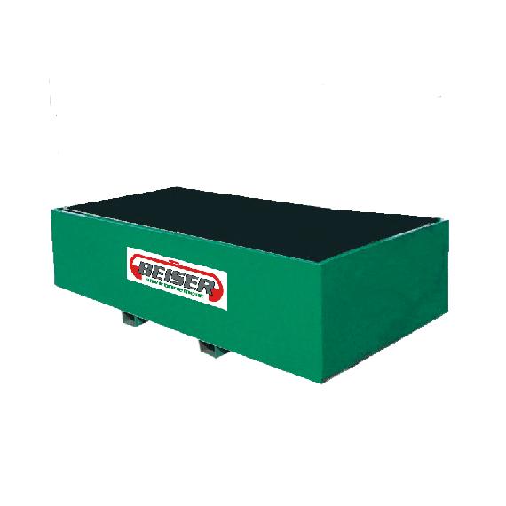 Bac de rétention métallique 6000 litres