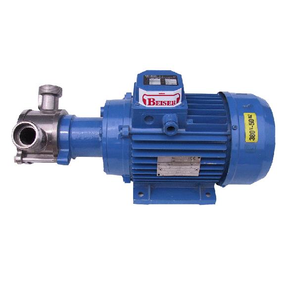 Pompe à mélasse triphasée 55T6C, débit 280 L/min