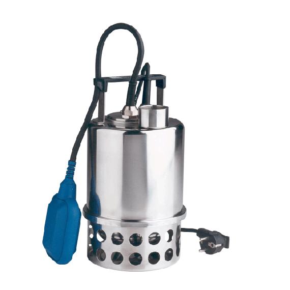 Pompe de relevage à eau immergée inox 230V (vide cave)