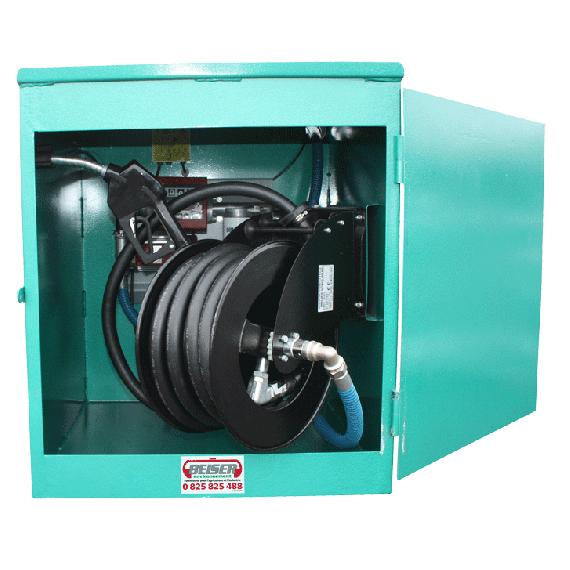 Armoire pour station fuel NN2G version économique avec pompe 60L/min