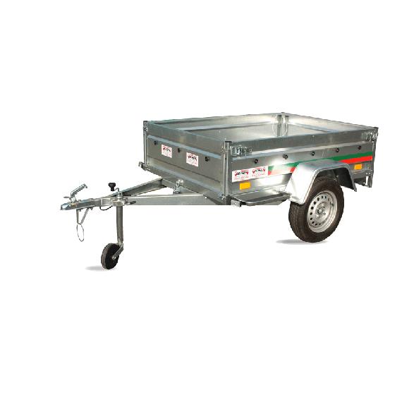 Remorque routière basculante PTAC 500kg