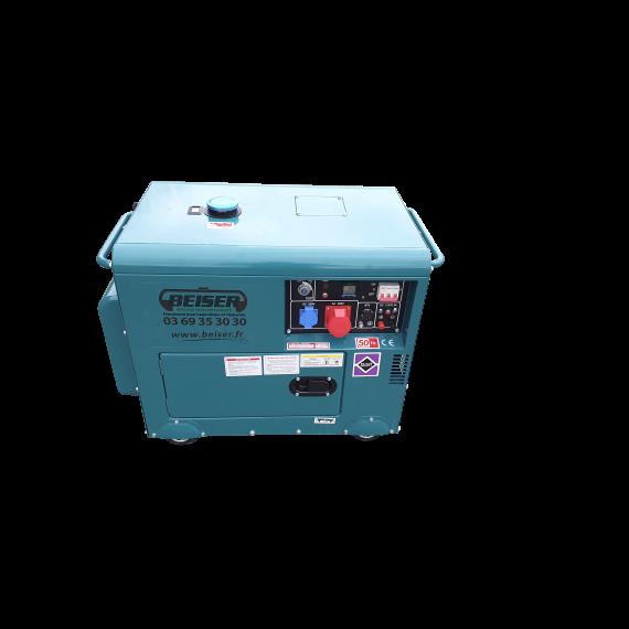 Groupe électrogène Diesel insonorisé 7 kW triphasé 220 - 380V