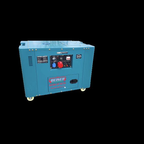 Groupe électrogène Diesel insonorisé 10 kW triphasé 220 - 380V