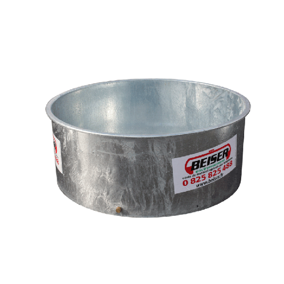 Bac à eau / herbage galva 870 L