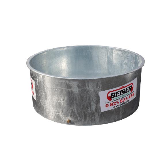 Bac à eau / herbage galva 1350 L