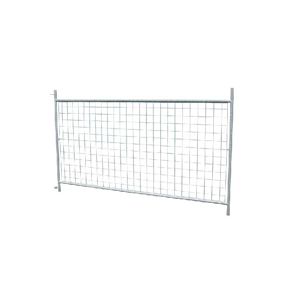 Barrière à agneaux grillagée