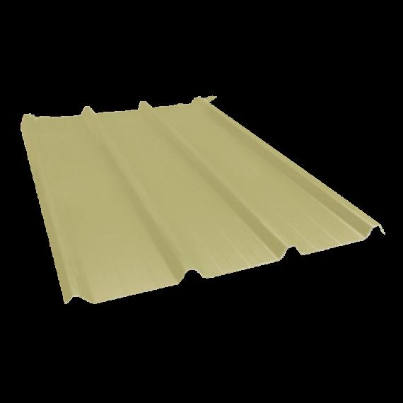 Tôle nervurée 45-333-1000, 60/100e jaune sable - 5 m