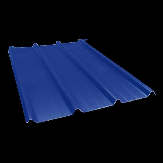 Tôle nervurée 45-333-1000, 70/100e bleu ardoise - 8 m