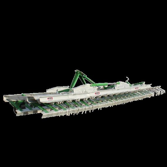 Rabot de prairie galvanisé 4,80m (nouveau modèle)