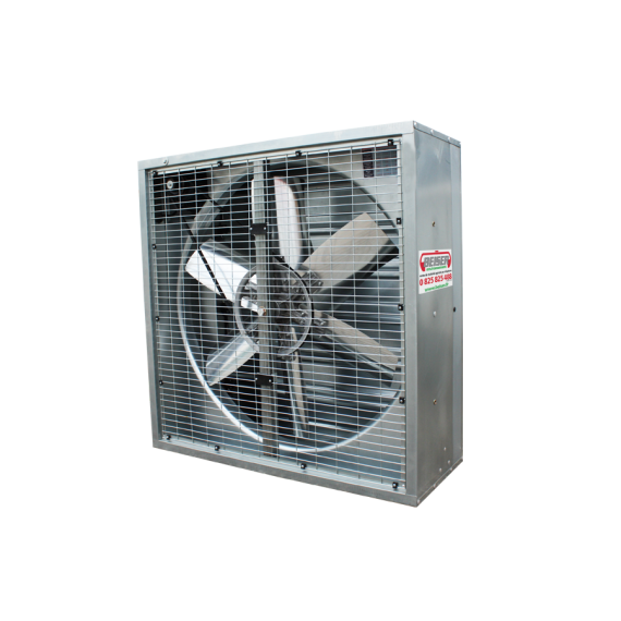 Ventilateur grand volume 138 cm X 138 cm X 40 cm