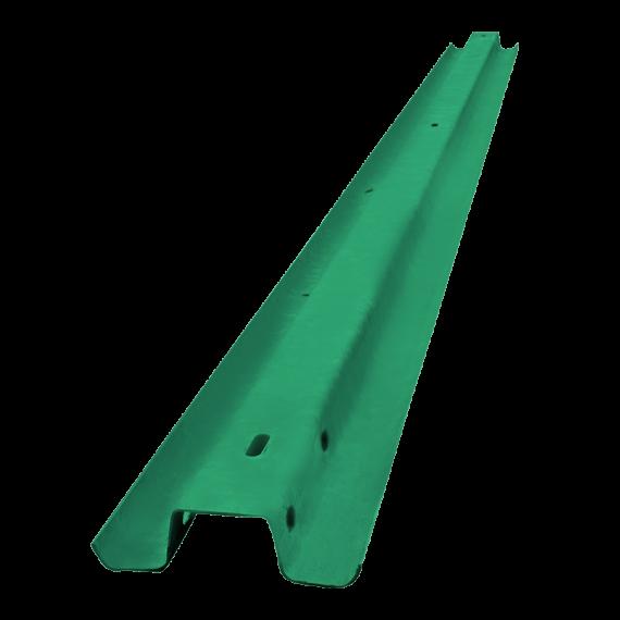 """Glissière forestière écologique (peinte en vert) """"seconde main"""""""