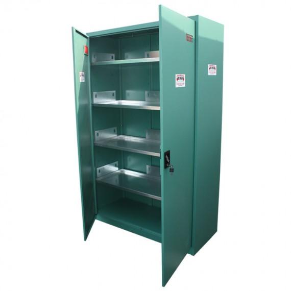 Armoire de sécurité verte phytosanitaire en KIT 1960 x 1200 x 500 mm