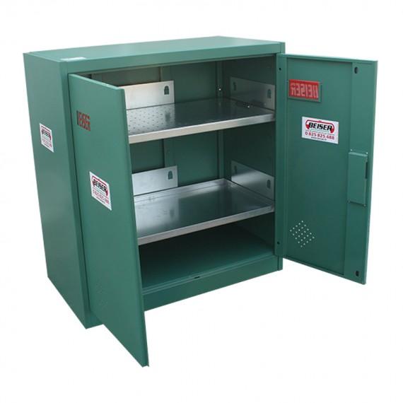 Armoire de sécurité verte phytosanitaire en KIT 1000 x 950 x 500 mm Basse