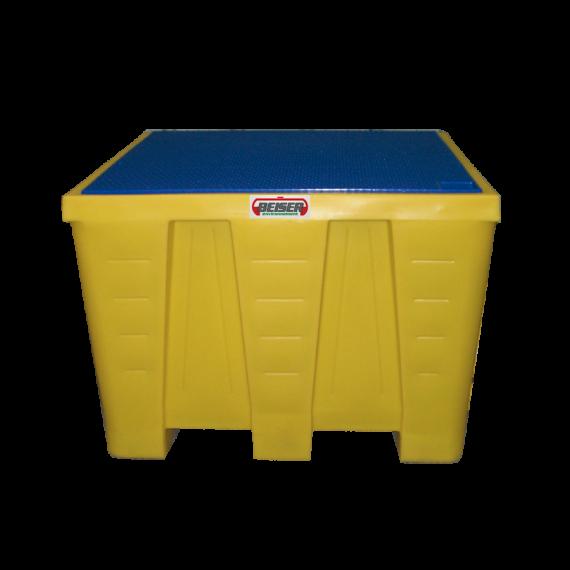 Bac de rétention en PEHD pour cubitainer - 1200 litres