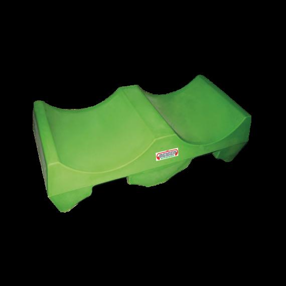 Support 2 fûts gerbables en plastique PEHD