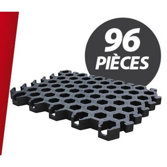 Caillebotis PVC pour niche à veaux Igloo (96 pièces)
