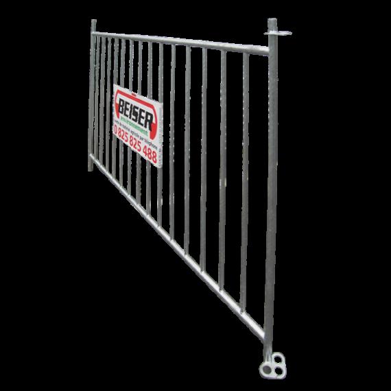 Barrière à mouton pour parc à mouton 2m, hauteur 1,20m - 14 barres verticales
