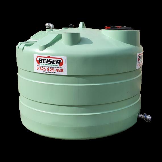 Citerne PEHD 3000 litres verticale 1700x1810