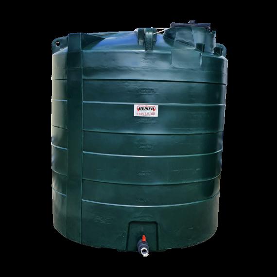 Citerne PEHD 7500 litres verticale 2150x2460